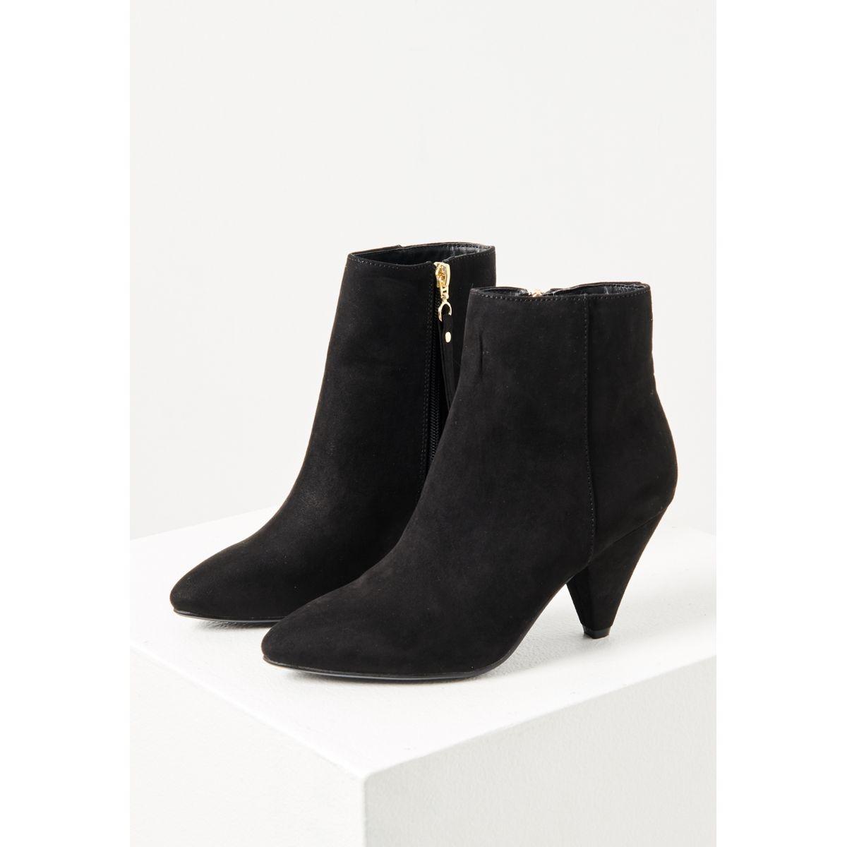 Boots talons conique