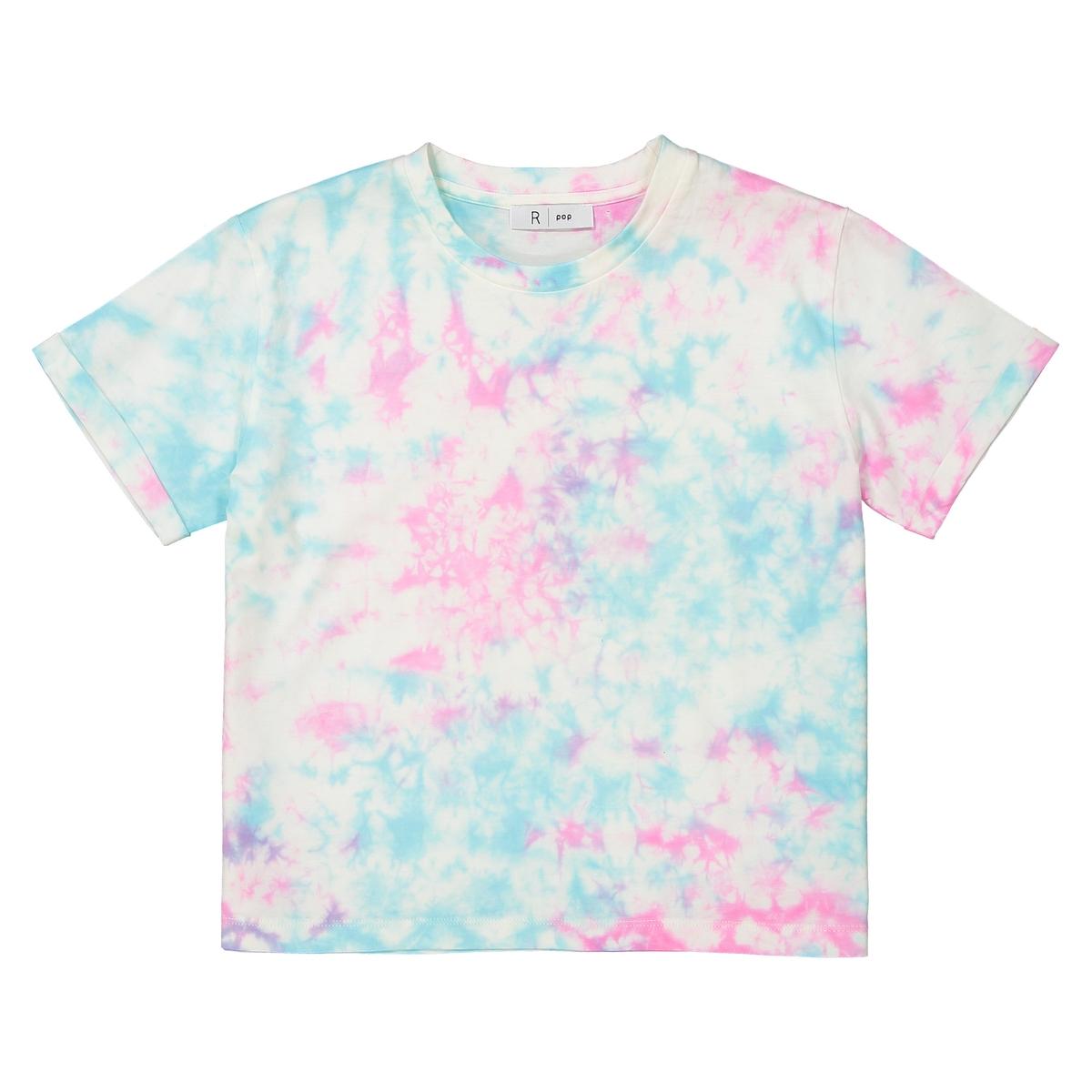 T-shirt cropped, Tie-dye, 10-16 anos