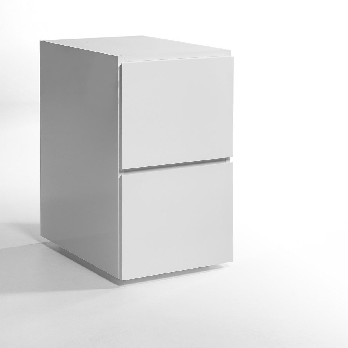 Тумба LaRedoute С 2 ящиками Working единый размер белый