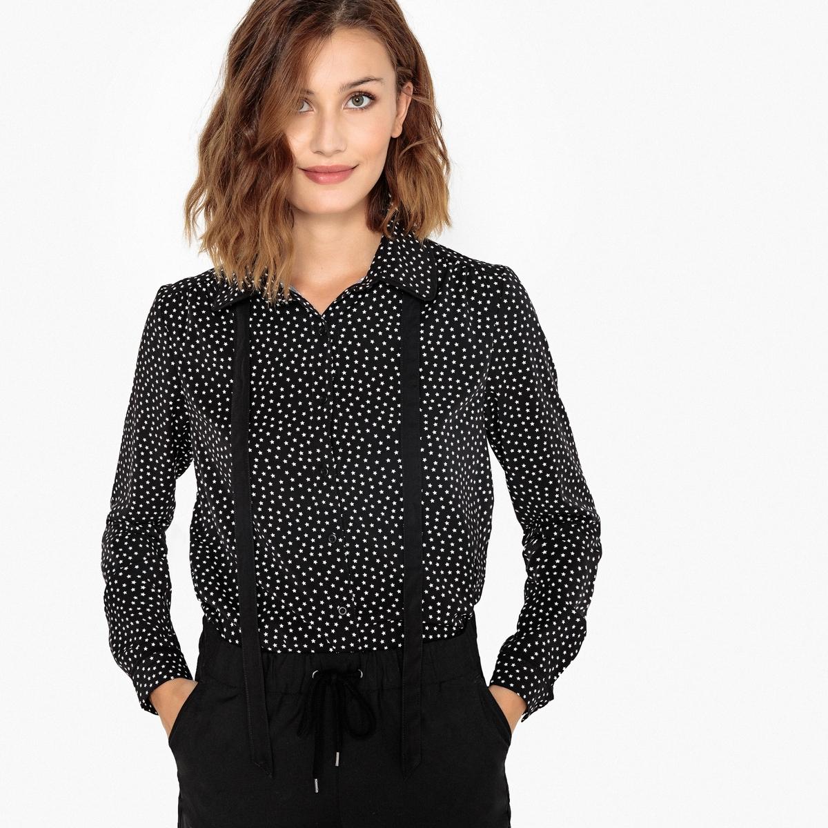 Рубашка с отложным воротником с рисунком рубашка smalto рубашки и сорочки с отложным воротником