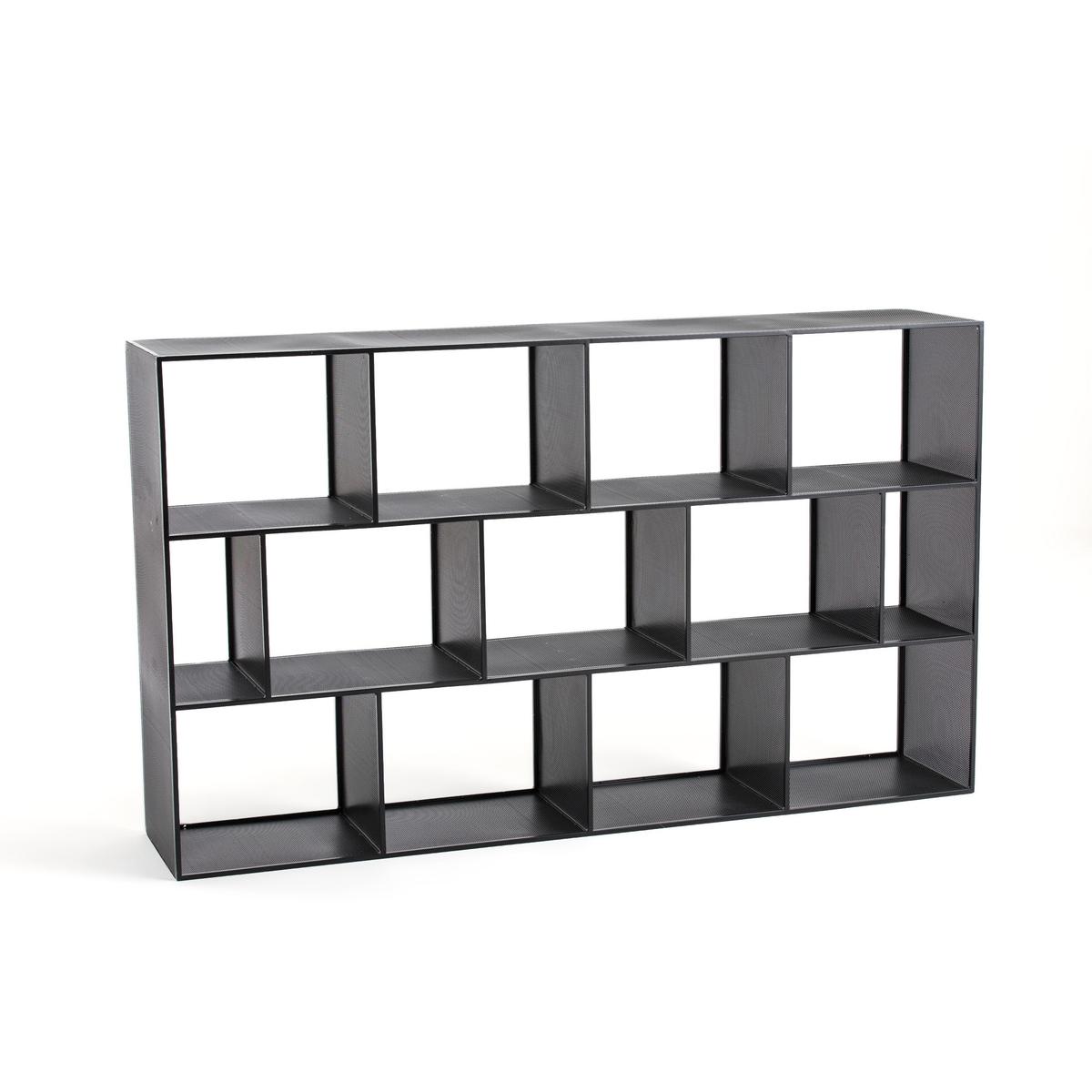 Стеллаж La Redoute Книжный металлический Varia единый размер черный