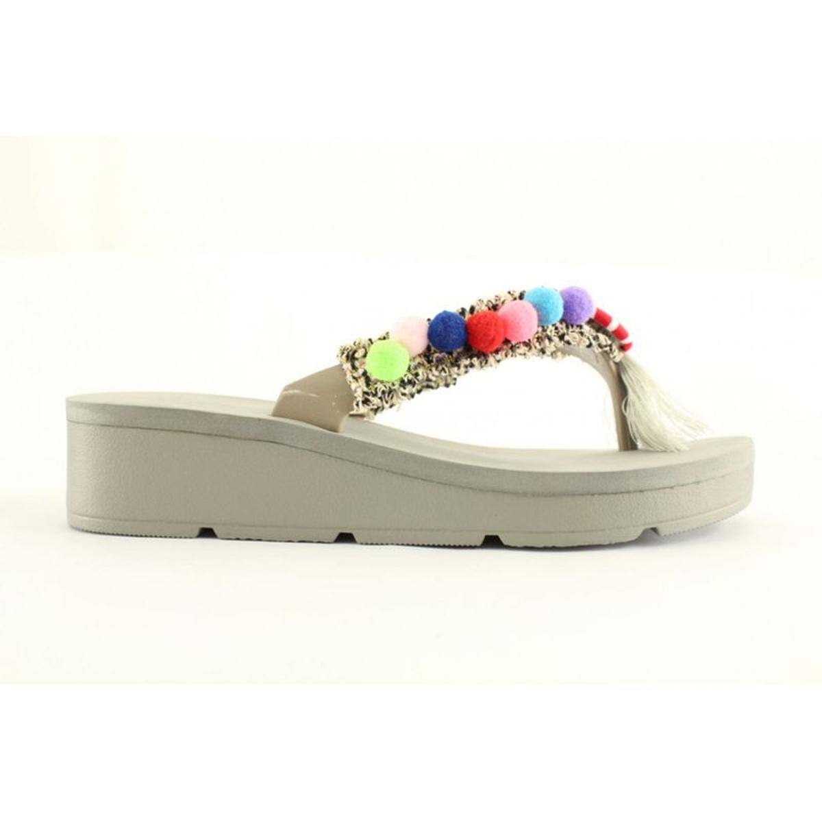 Sandales nu-pieds à plateforme Kamoa