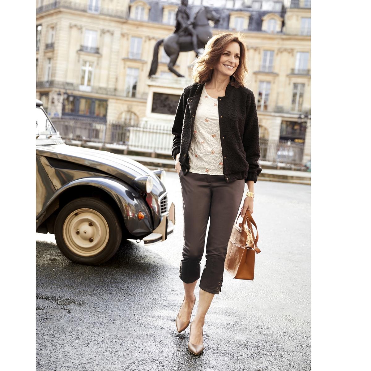 Imagen adicional de producto de Pantalón slim tobillero - Anne weyburn