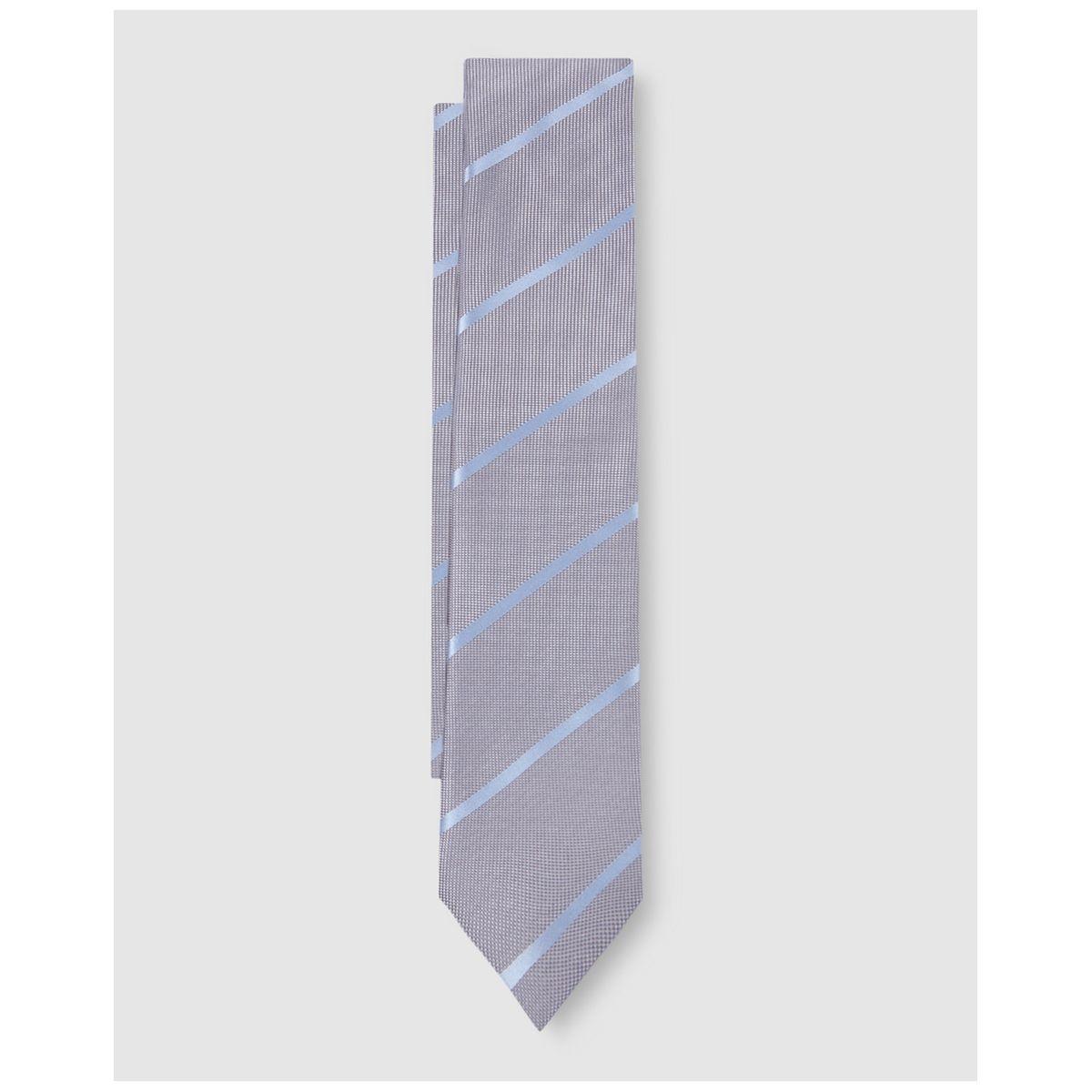Cravate roi imprimé rayures /