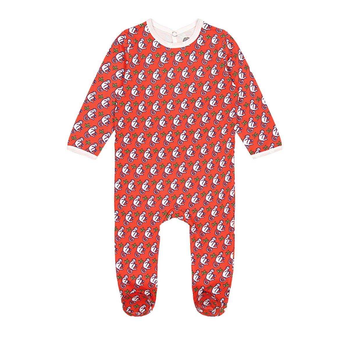 Pyjama bébé en coton bio - Merry Monkey