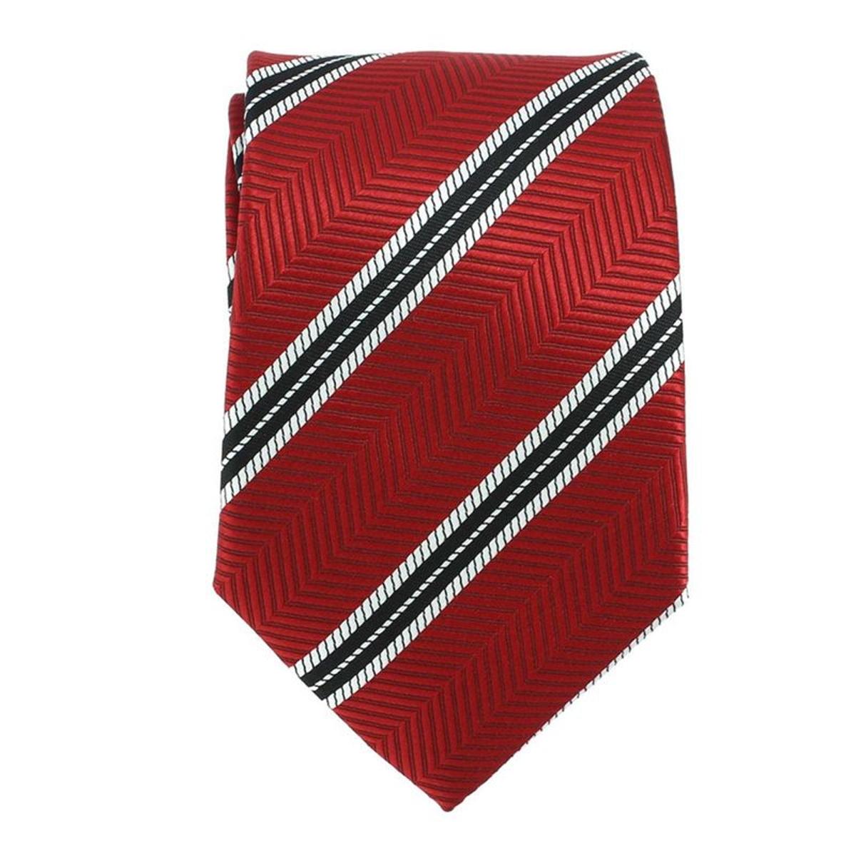 Cravate    CLUB À RAYURES LARGES