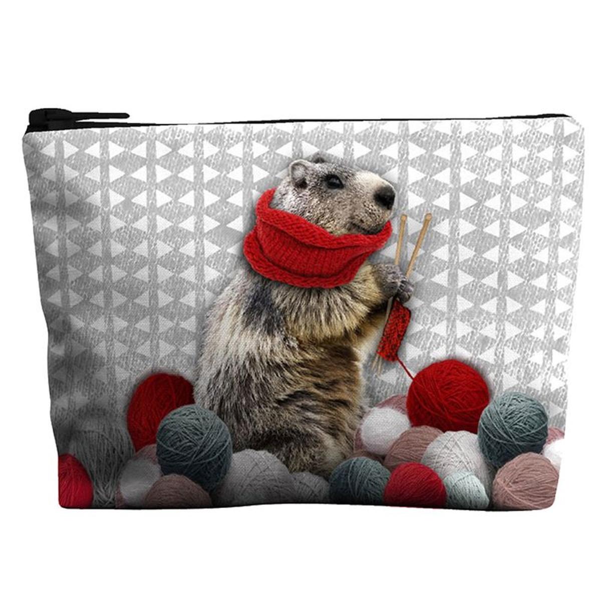 Petit porte-Monnaie Marmotte Laissez lucie Faire