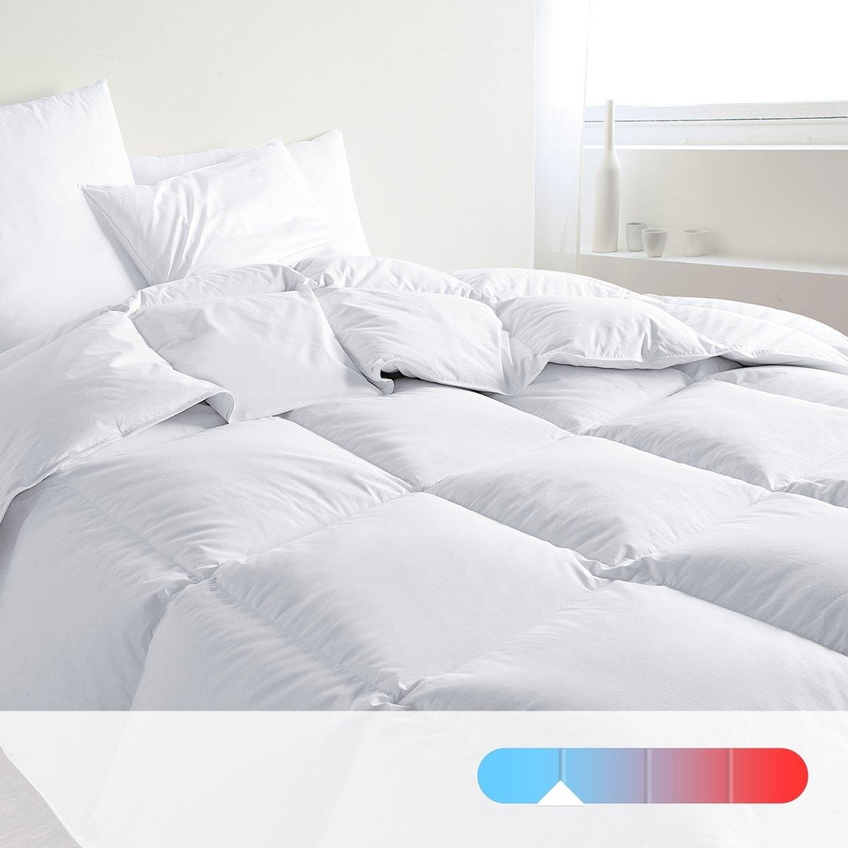 Одеяло с обработкой, 30% пуха, 400 г/м²