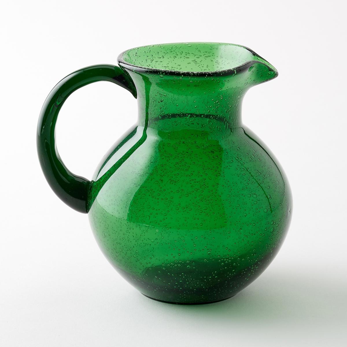 Графин из дутого стекла Tadiello<br><br>Цвет: темно-зеленый