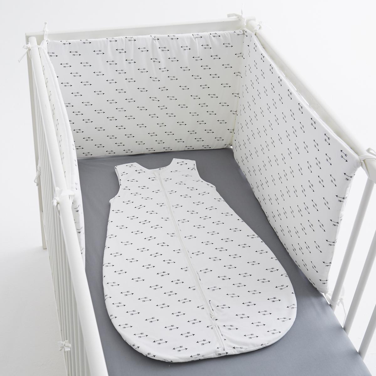 Защитная панель для детской кроватки стрелы,<br><br>Цвет: экрю