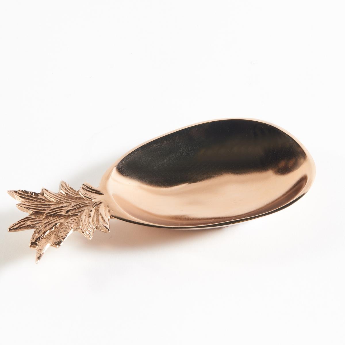 Монетница в форме ананаса с медным покрытием  XaticМонетница в форме ананаса из сплава алюминия с медным покрытием, Xatic . Экзотичная монетница, которую можно поставить на столик в прихожей, чтобы никогда не забывать ваши ключи  .Характеристики монетницы с медной отделкой, Xatic :В форме ананаса Из сплава алюминия с медной отделкой Найдите другие монетницы на сайте laredoute.ruРазмеры монетницы с медной отделкой, Xatic :Размер. : 20 x 10 см<br><br>Цвет: медный<br>Размер: единый размер