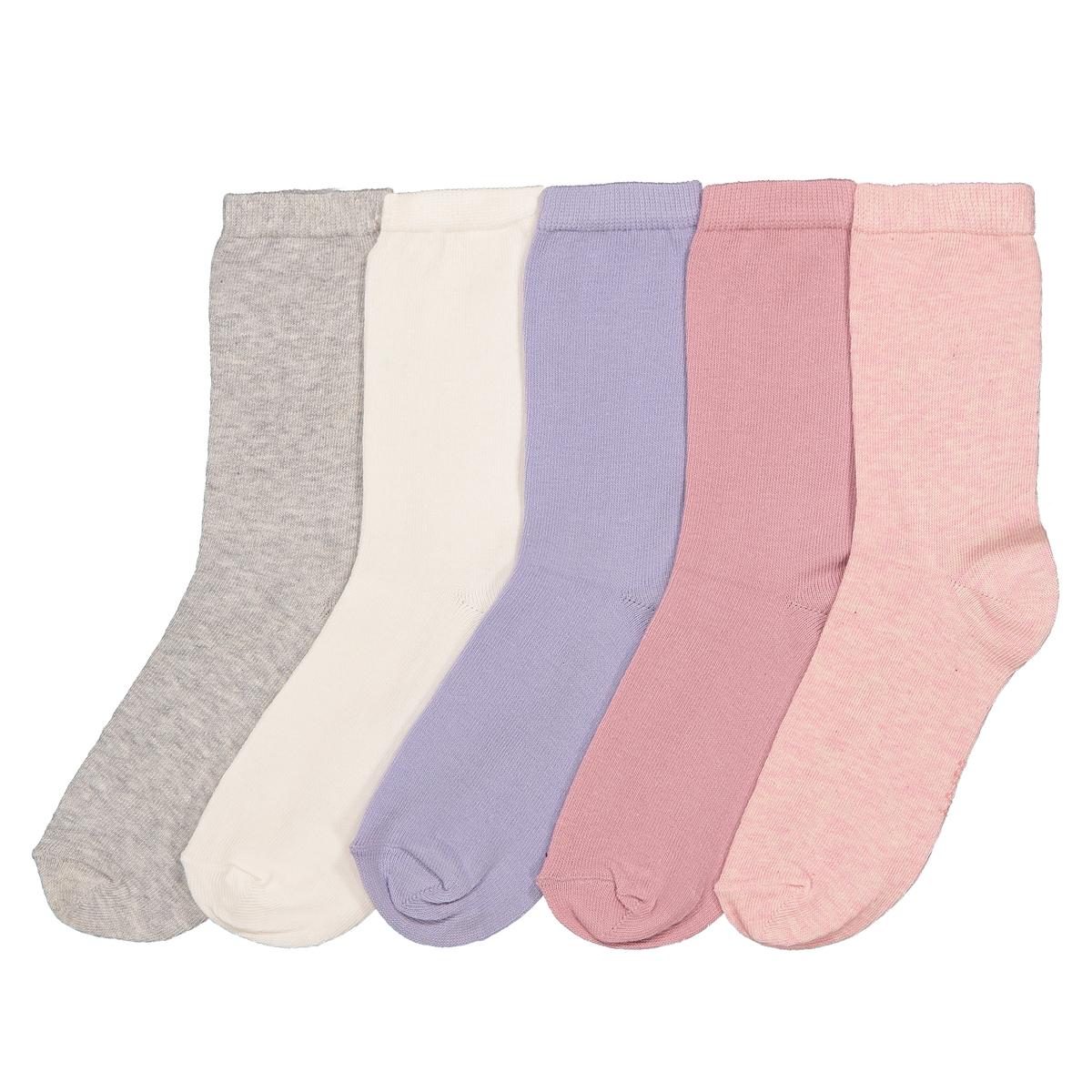 Комплект из пар носков La Redoute Размеры - 39/42 разноцветный комплект из пар носков la redoute размеры 23 26 черный
