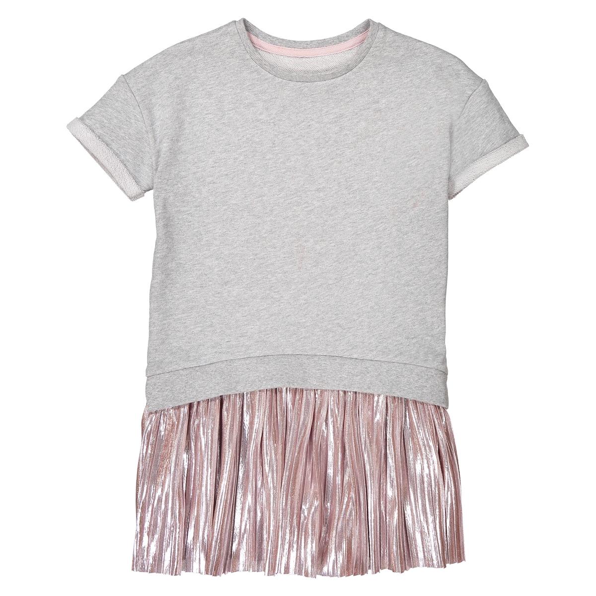 dual fabric dress, 3-12 years
