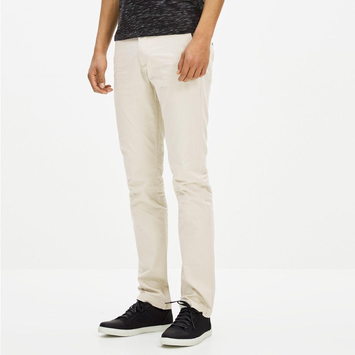 Pantalon slack en coton stretch GOLAKE