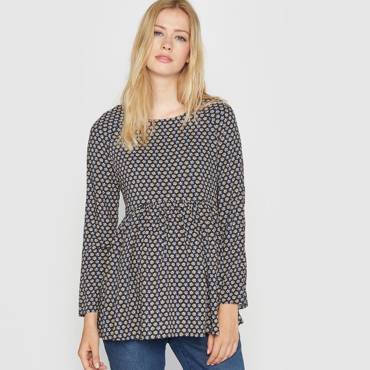Блузка для периода беременности с принтом от La Redoute