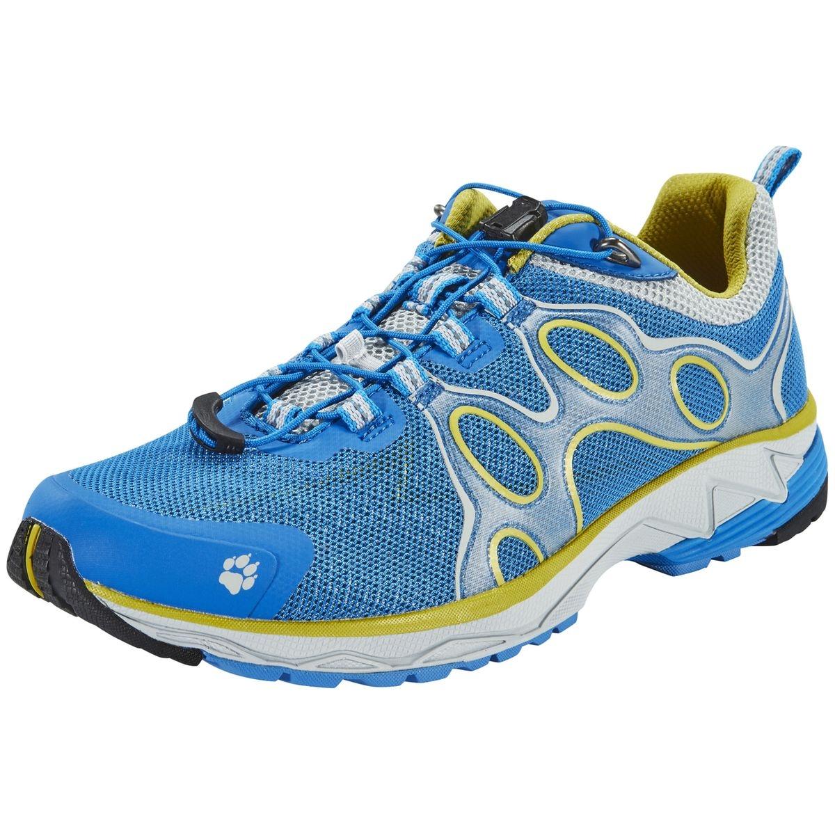 Passion Trail Low - Chaussures de running - jaune/bleu