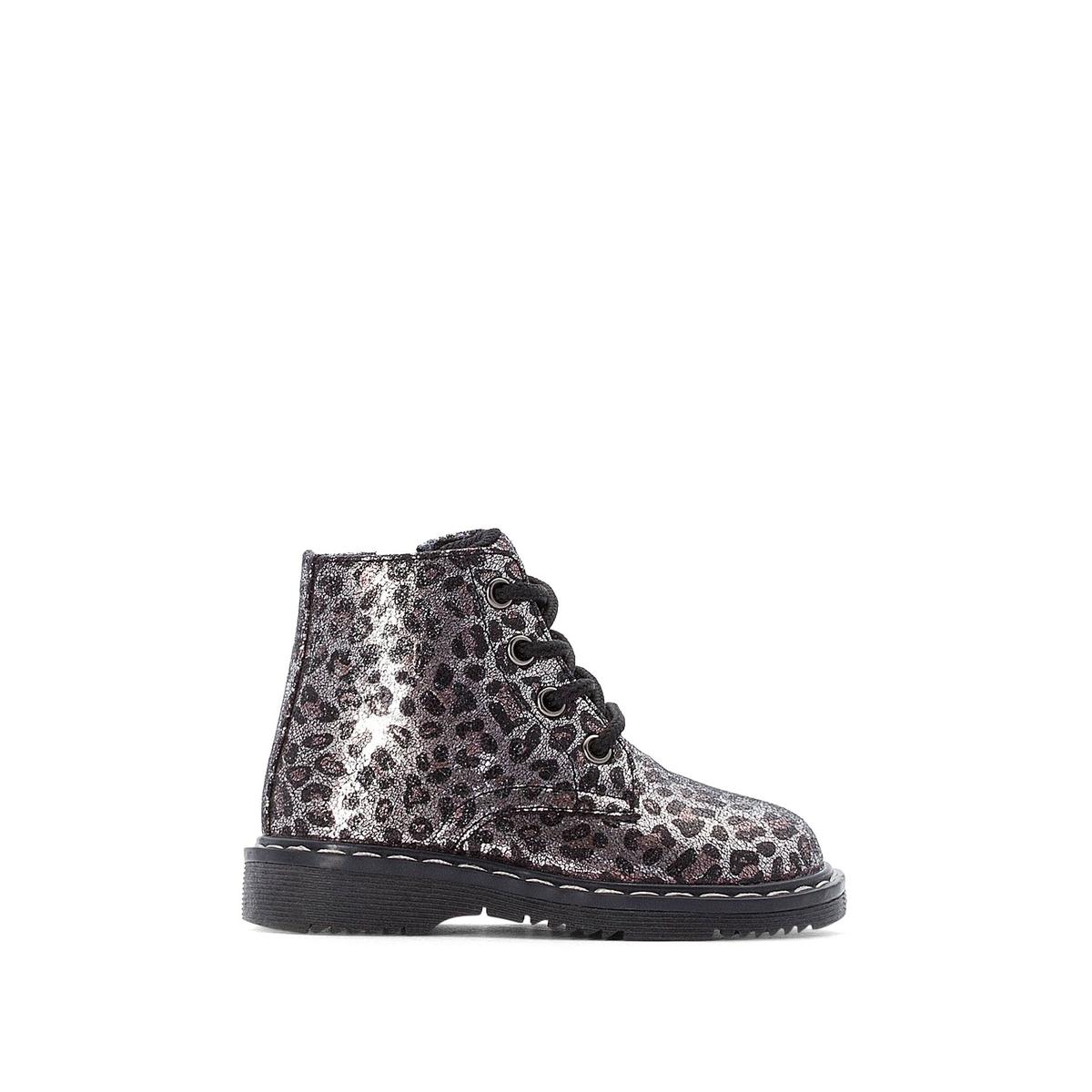 цена Ботинки La Redoute На молнии - 19 каштановый онлайн в 2017 году