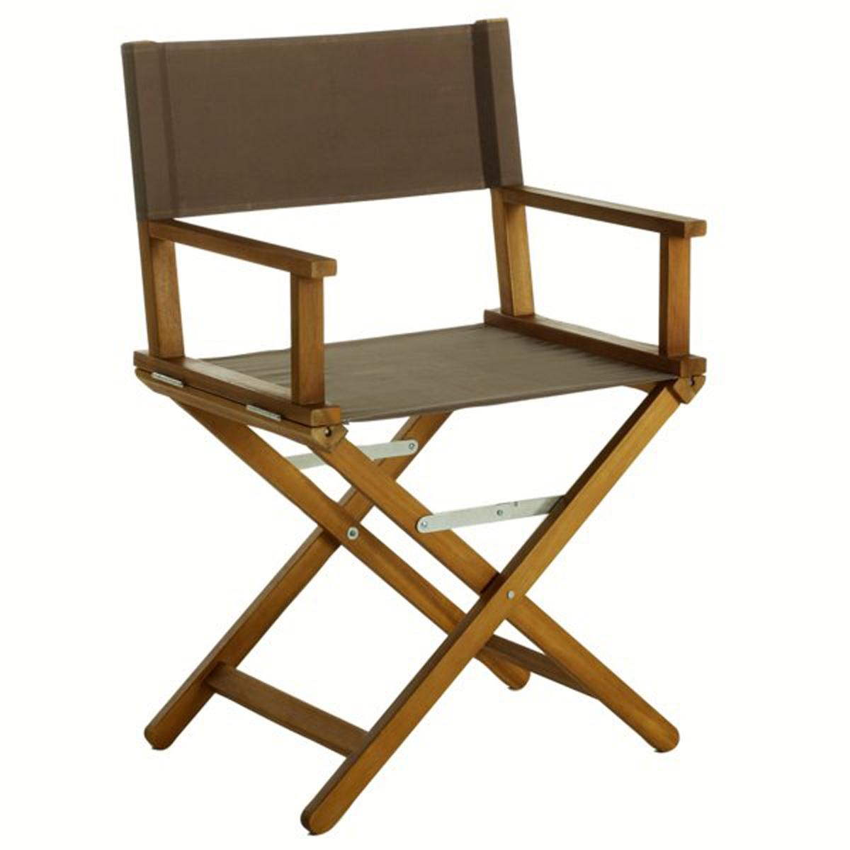 Кресло кинорежиссераХарактеристики кресла :Из акации с масляной пропиткой. - Покрытие  100% полиэстера .- Полностью складное .Поставляется  собранным, в сложенном виде .Размеры :- Общие: L56/57,5 x H88 x P43 см. Это кресло кинорежиссера для экстерьера может быть доставлено (без доплаты), если необходимо, до вашей квартиры.Вы можете обменять или вернуть кресло в течение 15 дней, предварительно оговорив это при покупке.<br><br>Цвет: в полоску разноцветный,изумрудный,серо-коричневый<br>Размер: единый размер