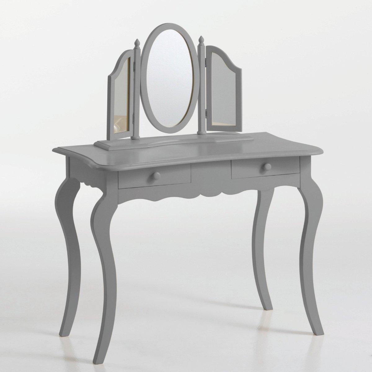 Столик туалетный изогнутый, массив сосны, Soupir