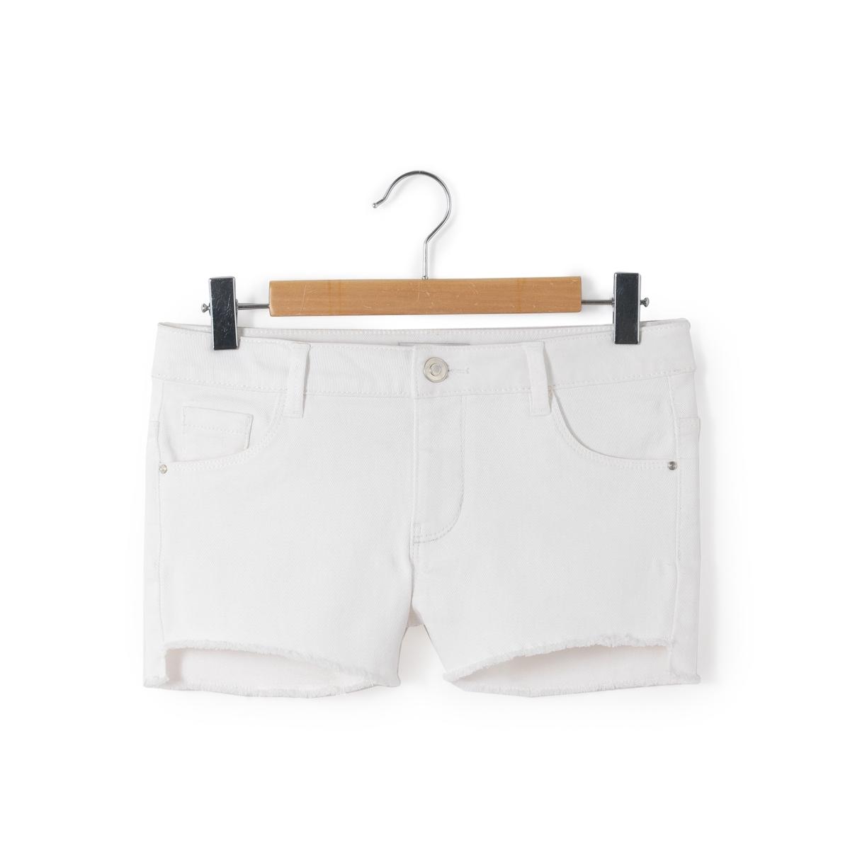 Short in jeans met 5-pockets