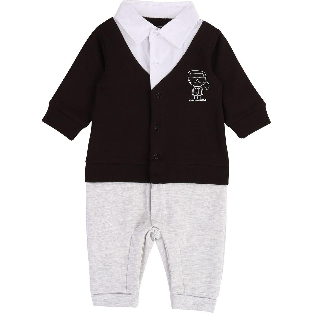 Combinaison3 en 1 col chemise