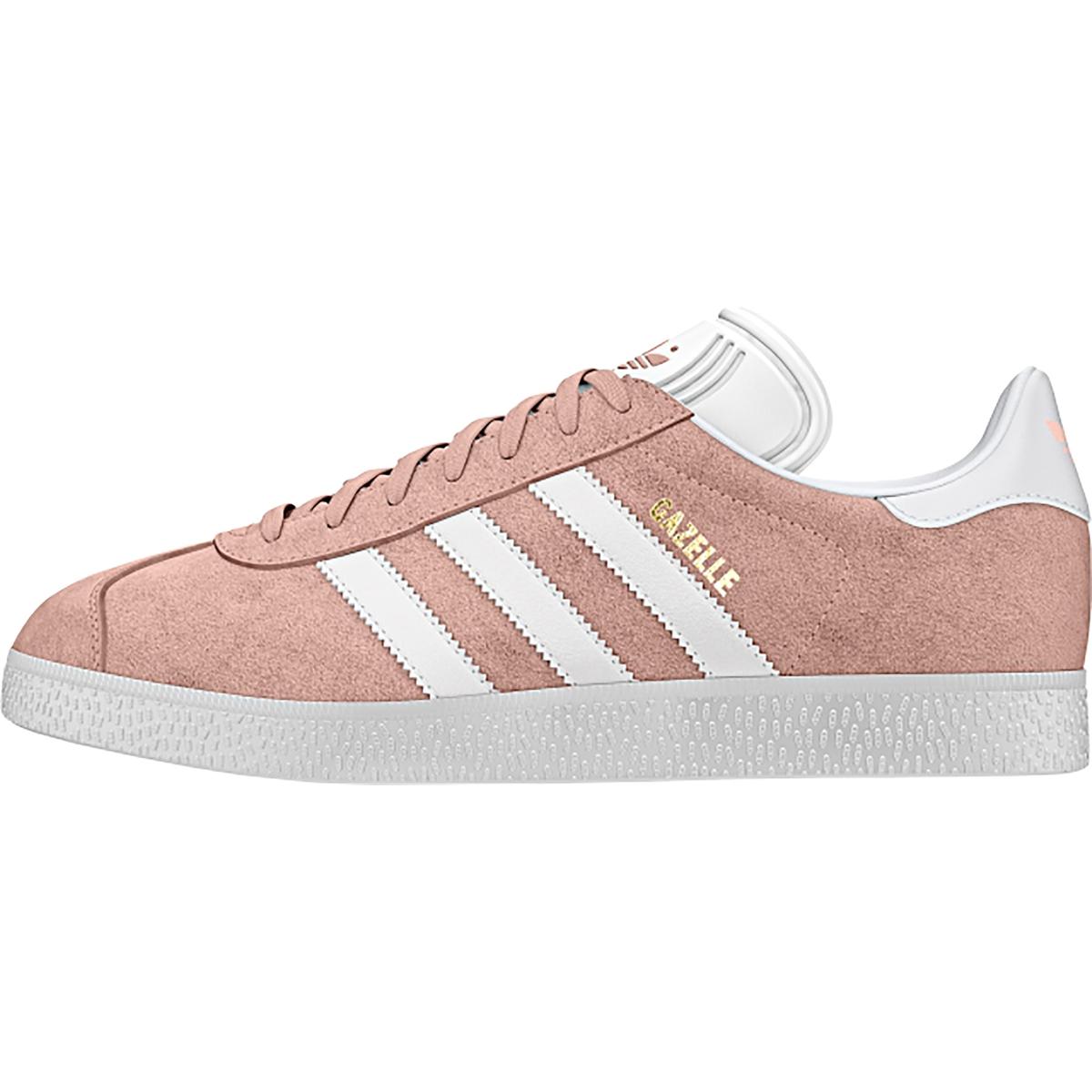 Adidas Unisex Adults' Gazelle Gymnastics Shoes, Vapour Pink/White/Gold Metallic), 6.5 UK 40 EU