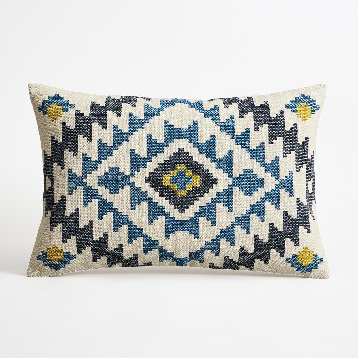Наволочка на подушку-валик L?gane<br><br>Цвет: синий