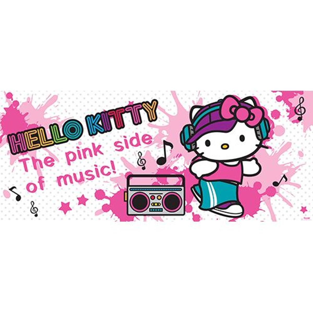 papier peint Hello Kitty - 250 x 104 cm