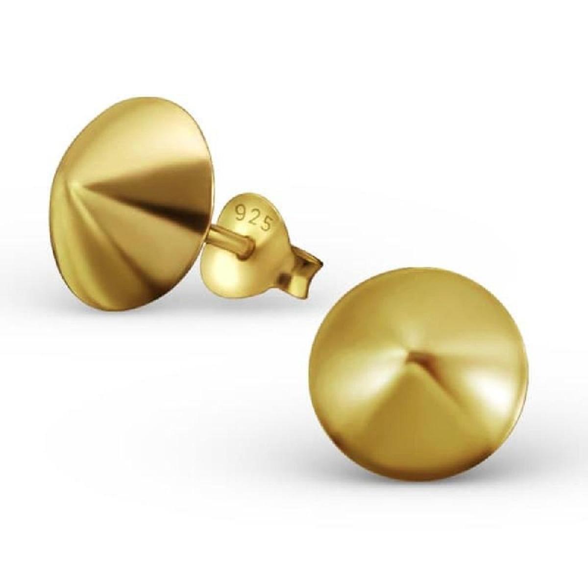 Boucles d'oreilles Cone Argent 925