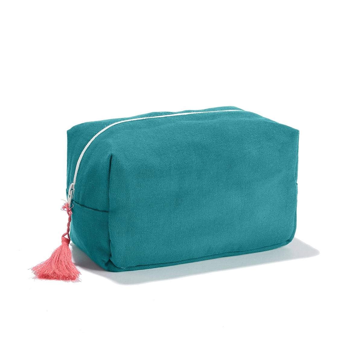 Косметичка POMPON bedroom mandala feather print pompon round floor cushion pillow case