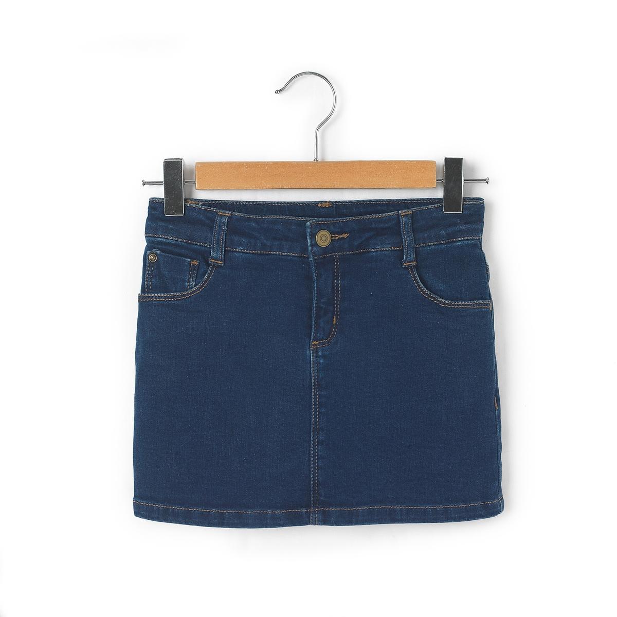 Юбка джинсовая, 3-12 лет
