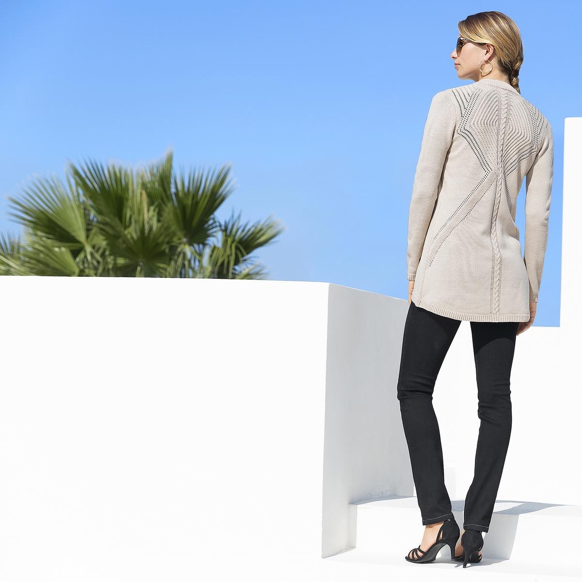 Imagen principal de producto de Vaqueros skinny con cintura elástica, sin cierre - Anne weyburn