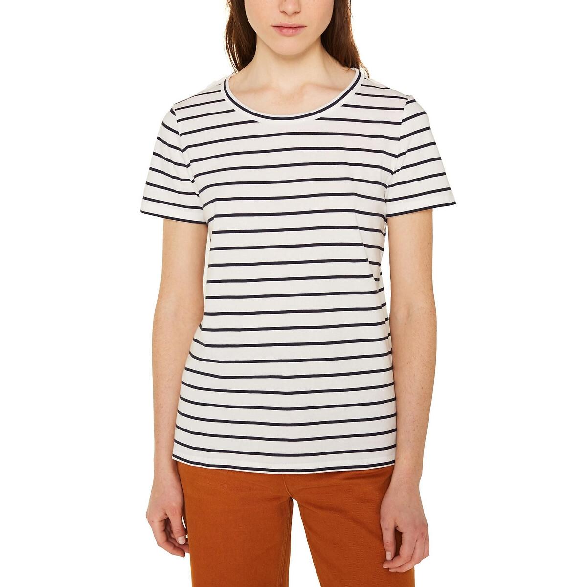 Camiseta de manga corta estilo marinero, de algodón orgánico