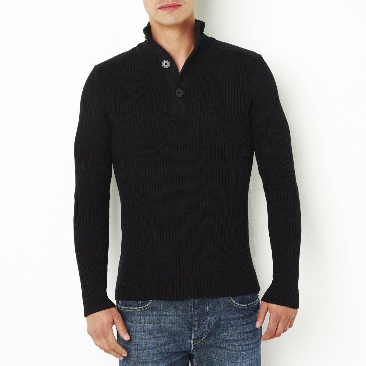 Пуловер классический из хлопка от La Redoute Collections