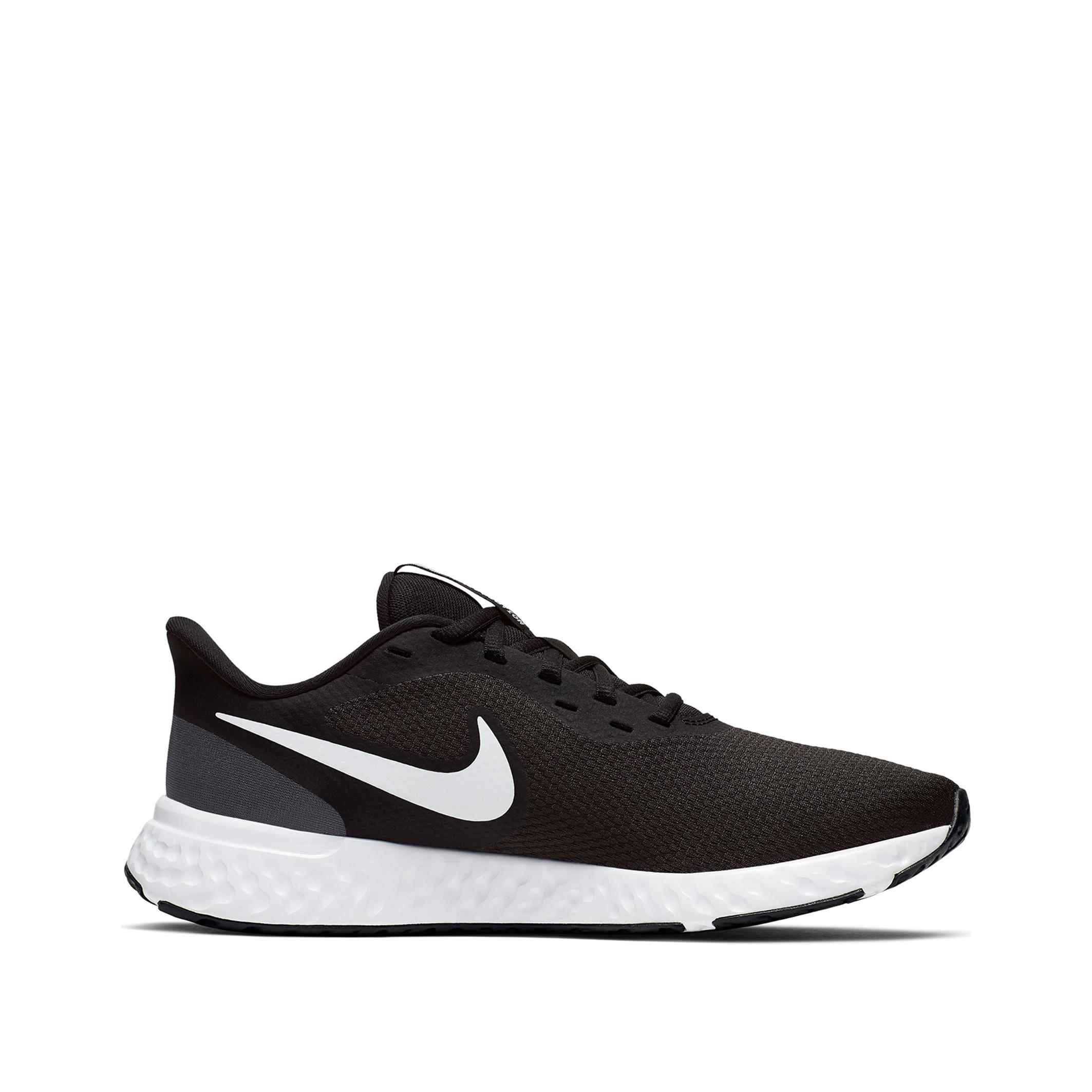 Nike revolution 5 hardloopschoenen zwart/wit dames online kopen