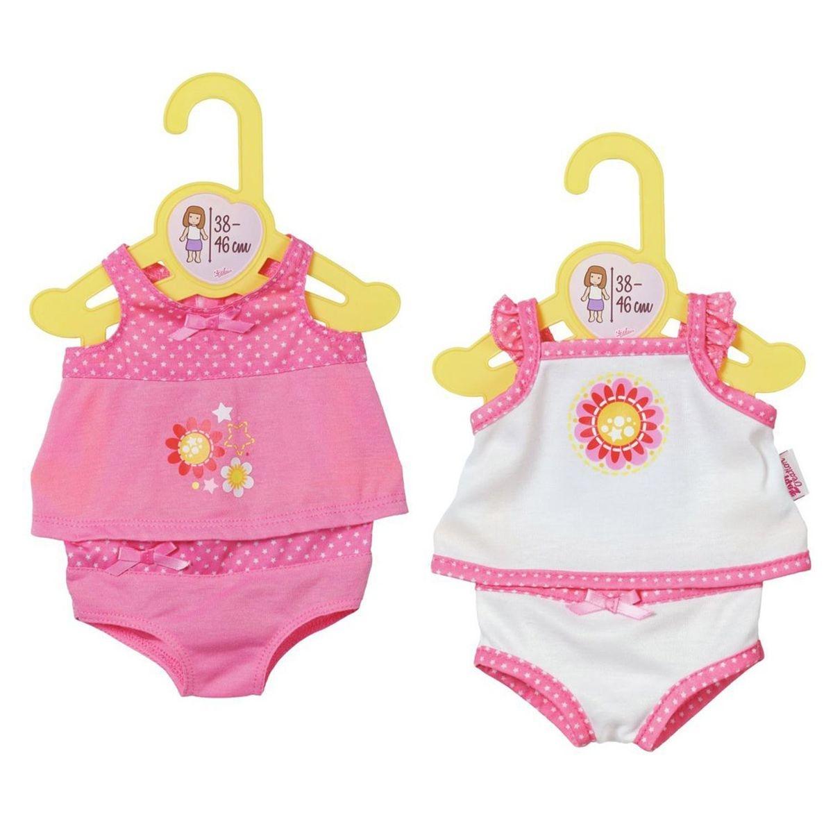 Dolly Moda sous-vêtements pour poupon de 38 à 46 cm - 1 pc