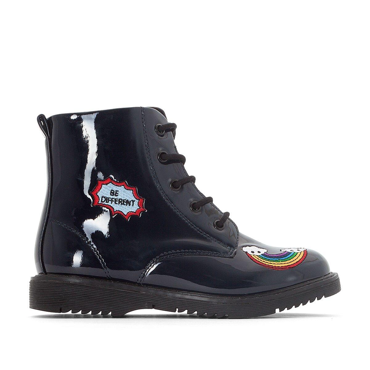 Boots à patchs 26-39