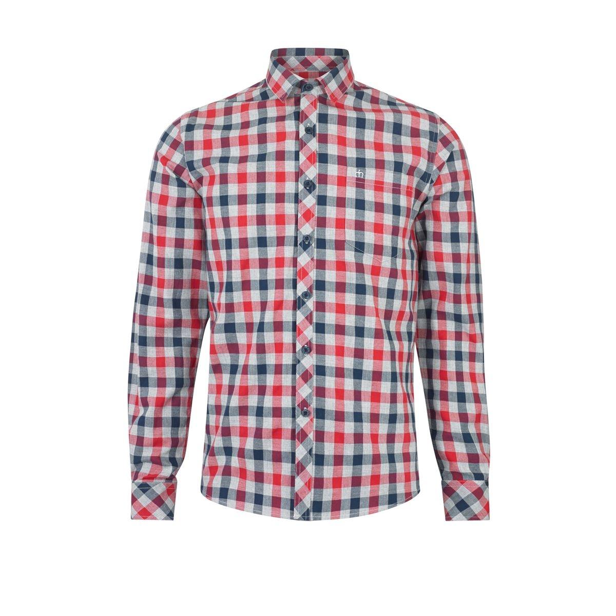 Chemise flanelle à carreaux HAMLET