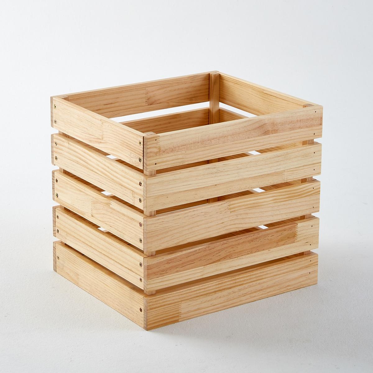 Ящик для вещей из массива сосны, HibaХарактеристики ящика для вещей из сосны, Hiba :Сосновые дощечки с масляным покрытием, толщ. 15 мм.Дно из МДФ, толщ. 9 мм .Найдите все ящики для хранения вещей и всю коллекцию Hiba на сайте laredoute.ruРазмеры ящика для вещей из сосны, Hiba  :Общие: Ширина 33,6 см Глубина 38,6 см Высота 35 смВес 3,2 кг Размеры и вес в упаковке :1 упаковка. Длина 41 x Ширина 38,5 x Высота 10,5 cм. 3,9 кг.<br><br>Цвет: серо-бежевый