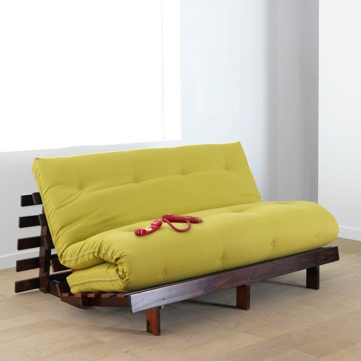 Colchón futón confort seda, cachemir, látex