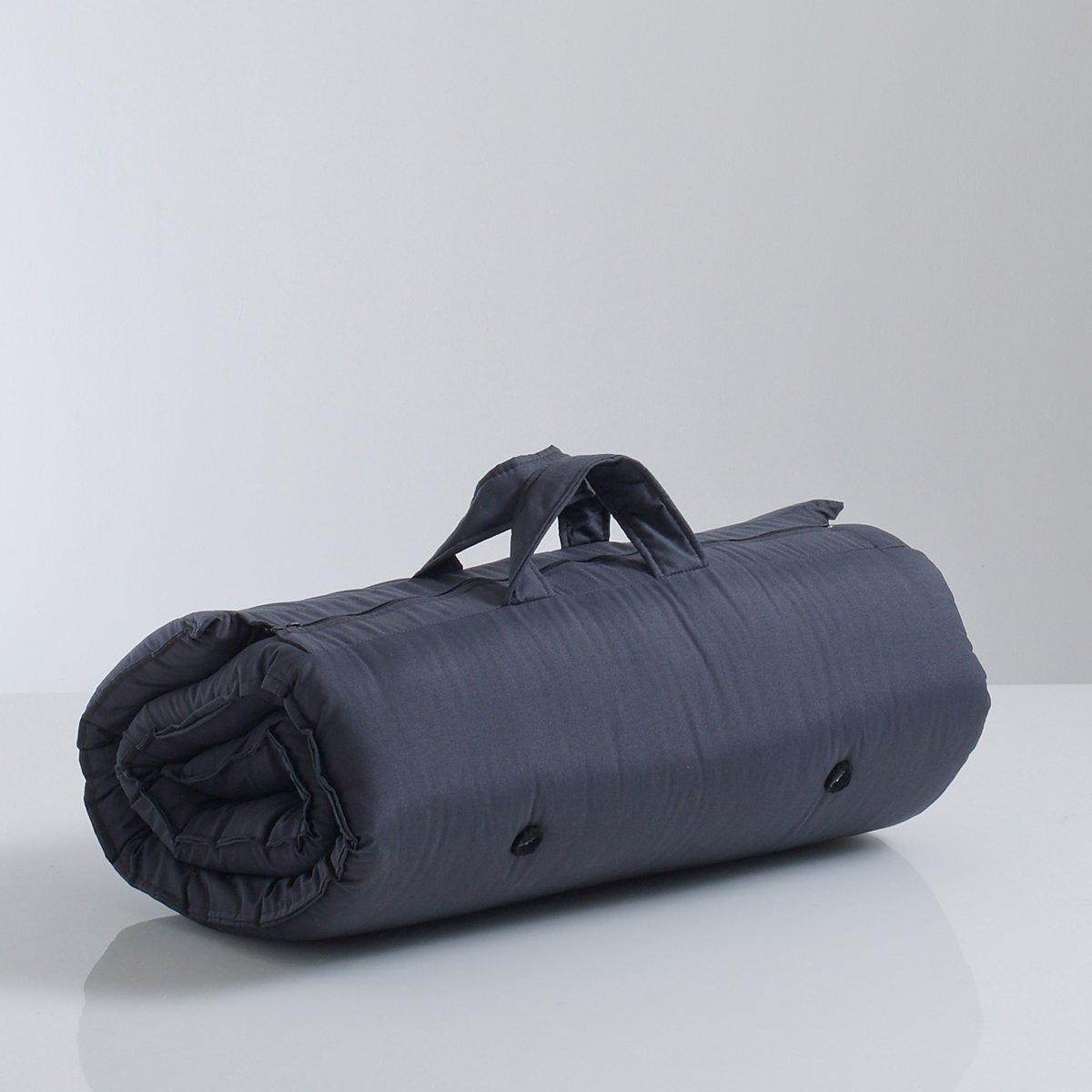 Матрас хлопчатобумажныйИдеальный вариант для сна на природе ! Не занимающий много места и всегда готовый к использованию,  сворачивается, застежка на молнию, легко переносится при помощи 2 ручек . Размеры :В развернутом виде : 70 x 190 см. Толщина 5 см. Покрытие:70% хлопок, 30%полиэстер, обработка TEFLON (от пятен).Комфортный матрас :Внутренний слой из  2слоев  ваты 80% хлопок (1300г/м?).Набивка-планки и фетр .<br><br>Цвет: антрацит,красный<br>Размер: 70 x 190 см.70 x 190 см