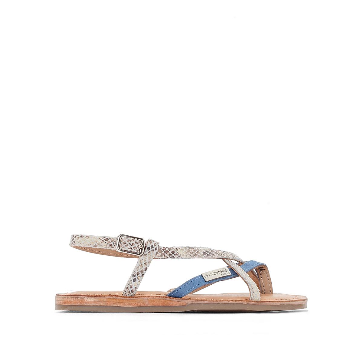 Босоножки кожаные Bonbon на плоском каблуке сапоги кожаные на плоском каблуке 1137