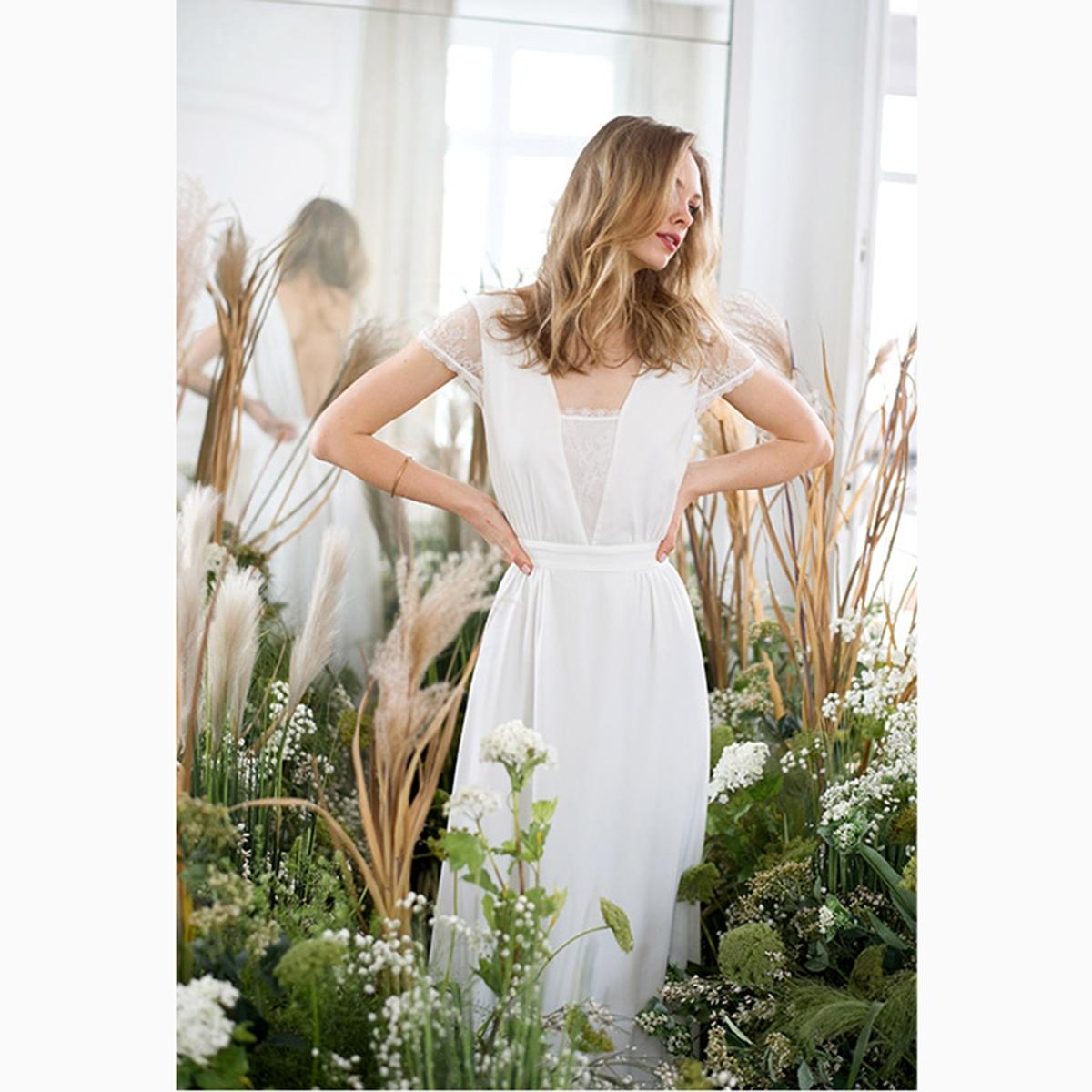 Платье свадебное длинное