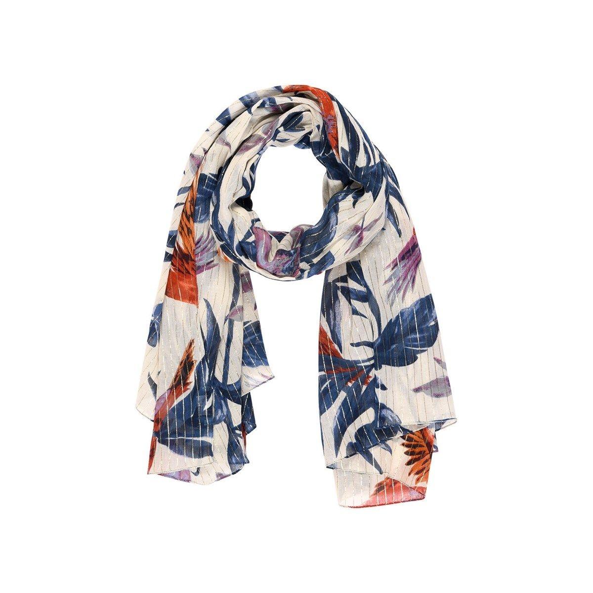 Foulard motif perroquet