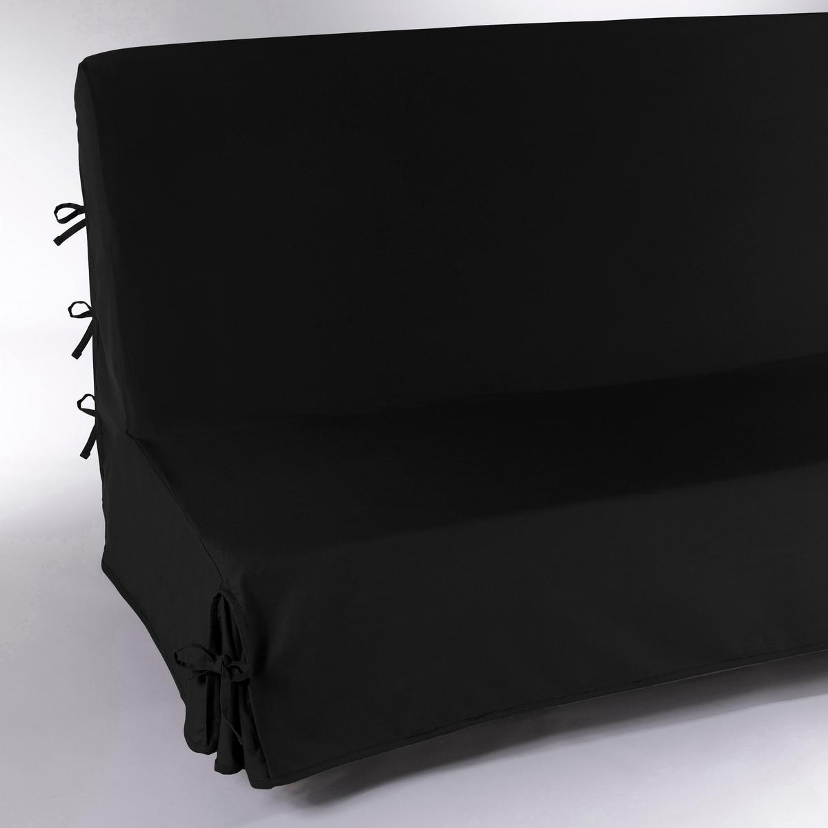 Чехол La Redoute Для раскладного дивана SCENARIO 160 см черный