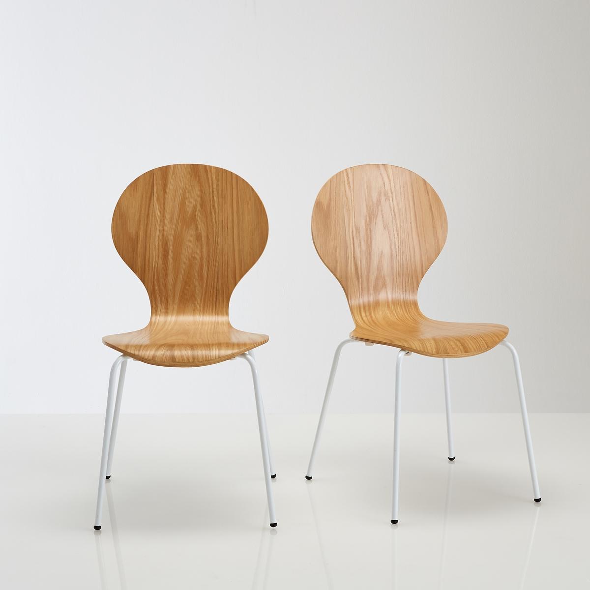 2 стула с дубовым шпоном, JIMIРазмеры стульев :Общие :Длина : 55 см.- Высота : 86 см.Ширина : 46,5 см Высота сиденья : 45 см.Размеры и вес упаковки :1 упаковка71,5 x 29,5 x46,5 см - 11 кг Доставка :Стулья Jimi продаются в собранном виде . Возможна доставка до квартиры !Внимание ! Убедитесь, что товар возможно доставить на дом, учитывая его габариты (проходит в двери, по лестницам, в лифты)<br><br>Цвет: белый<br>Размер: единый размер