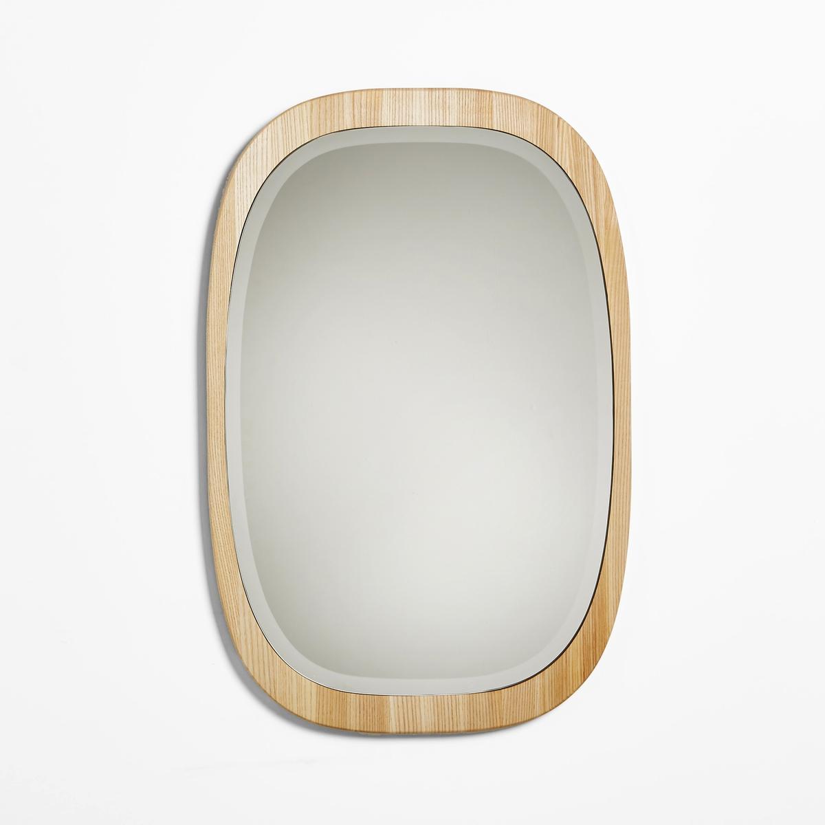 Зеркало OKANЗеркало мягкой закругленной формы в скандинавском стиле. Можно создать оригинальное стенное украшение, повесив несколько зеркал горизонтально и несколько вертикально.Характеристики зеркала Okan :Зеркало из ясеня вертикального или горизонтального крепления, задняя панель из МДФ.2 пластины для каждого крепления.- Шурупы и дюбели продаются отдельно.Размеры зеркала Okan :Разм. 43 x 65 см x толщина 1,8 см. Другие зеркала вы можете найти на сайте laredoute.ru<br><br>Цвет: серо-бежевый