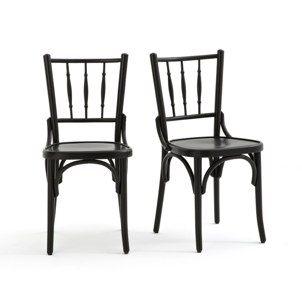 Комплект из высоких стульев La Redoute BISTRO единый размер черный комплект из высоких стульев la redoute bistro единый размер бежевый
