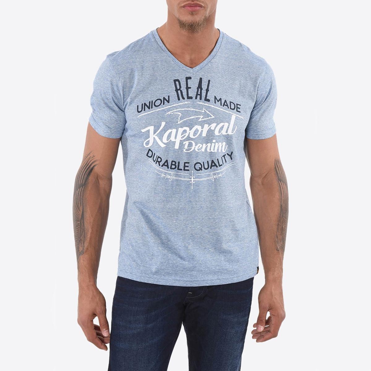 Футболка с V-образным вырезом и короткими рукавами семь волков мужской чистого цвета хлопка с короткими рукавами футболки v образным вырезом донизу рубашки летние спортивные 98714 белый xxl