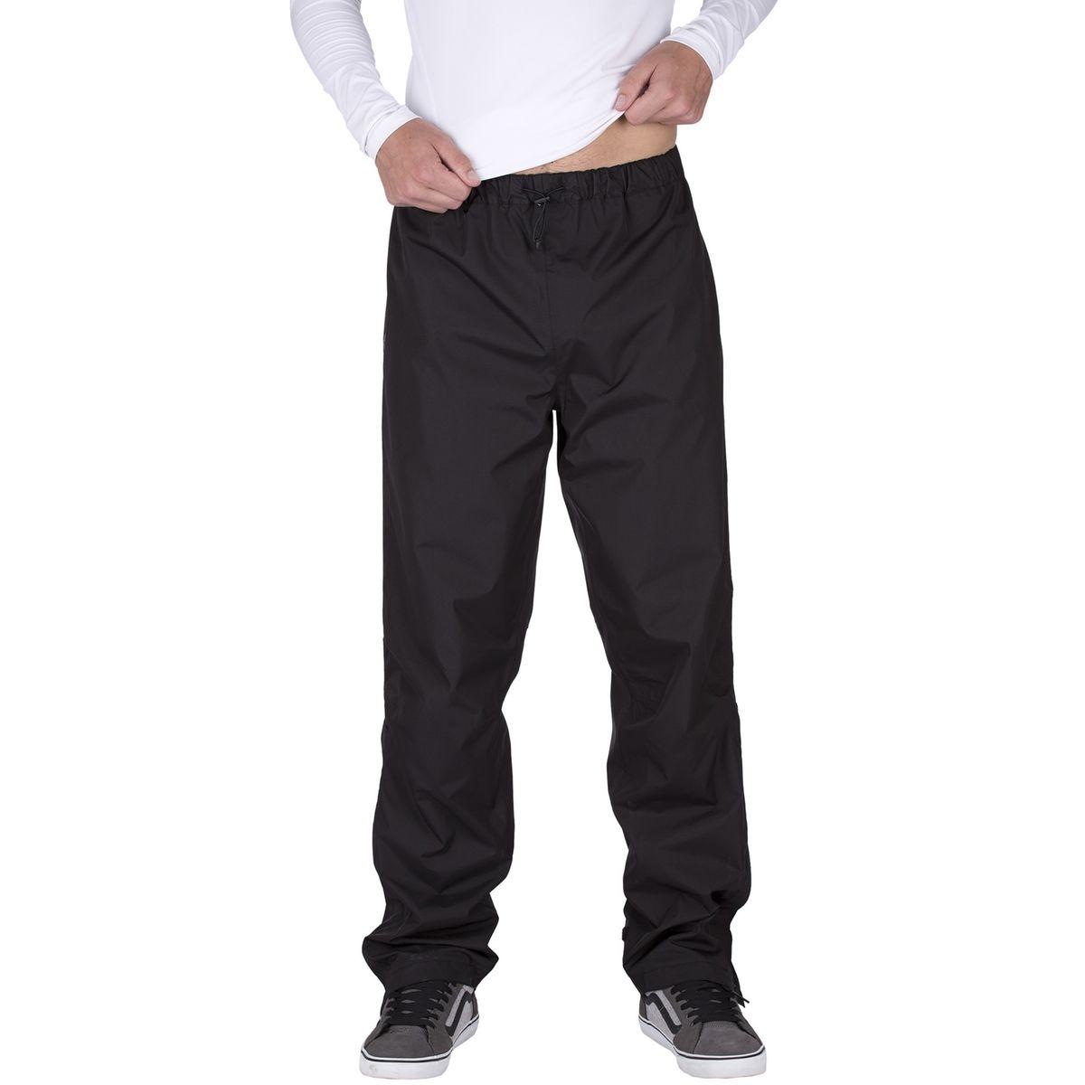 Fluid II - Pantalon de pluie homme - noir